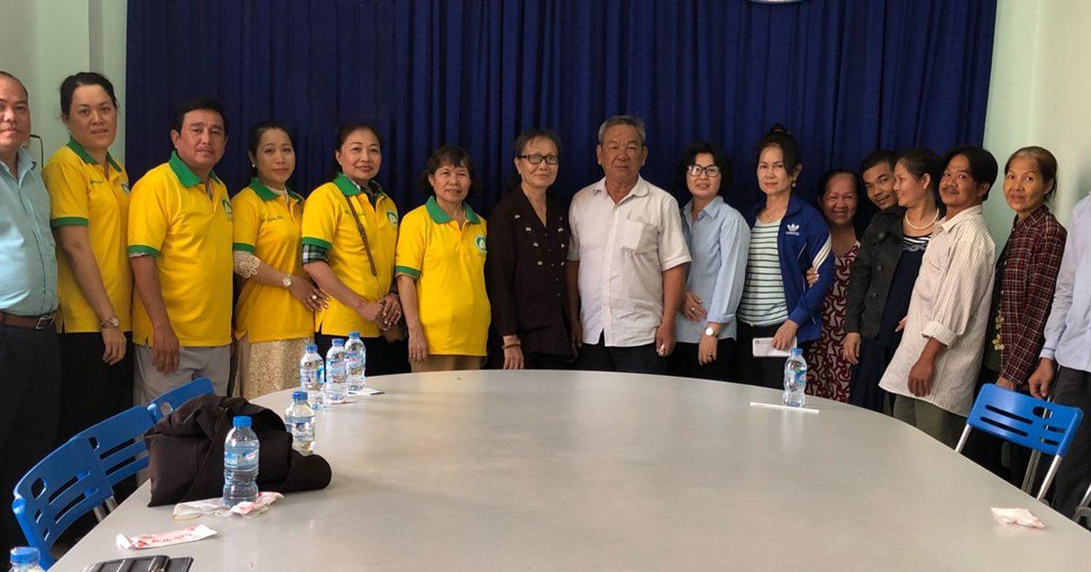 Quỹ TT TVTV Hỗ Trợ 55 Triệu Đồng Cho 8 Căn Nhà Bị Cháy Tại Quận 8